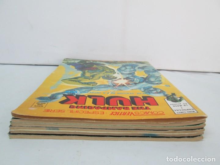 Cómics: THE RAMPAGING HULK. MUNDO COMICS VOL1. Nº 11-12-13-14-15 Y ESPECIAL 2. COMICS VERTICE. VER FOTOS - Foto 5 - 131593954