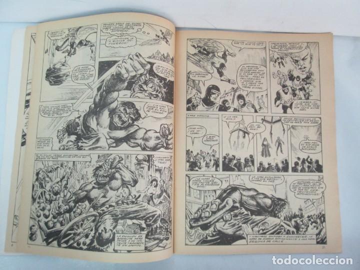 Cómics: THE RAMPAGING HULK. MUNDO COMICS VOL1. Nº 11-12-13-14-15 Y ESPECIAL 2. COMICS VERTICE. VER FOTOS - Foto 8 - 131593954