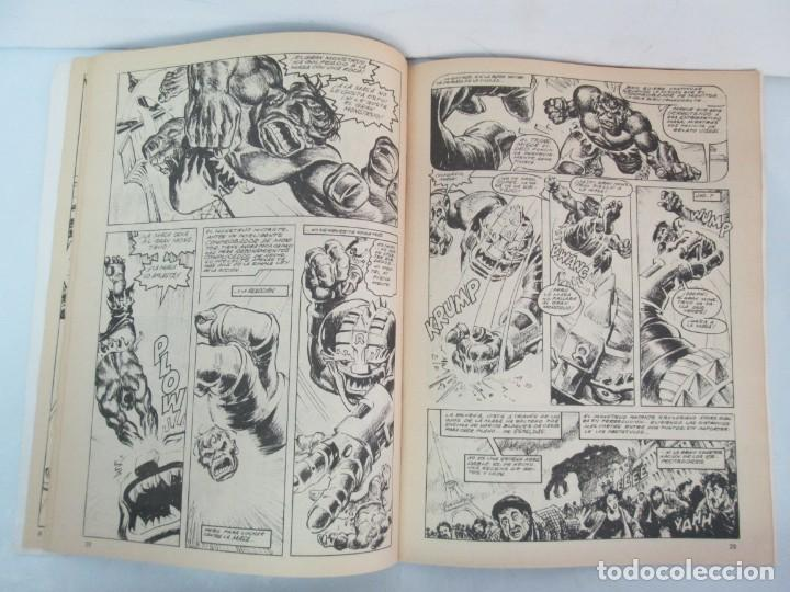 Cómics: THE RAMPAGING HULK. MUNDO COMICS VOL1. Nº 11-12-13-14-15 Y ESPECIAL 2. COMICS VERTICE. VER FOTOS - Foto 9 - 131593954