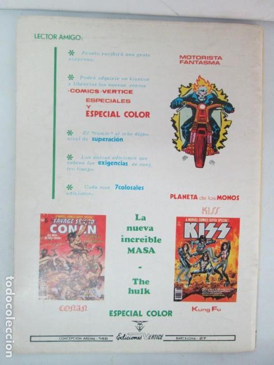 Cómics: THE RAMPAGING HULK. MUNDO COMICS VOL1. Nº 11-12-13-14-15 Y ESPECIAL 2. COMICS VERTICE. VER FOTOS - Foto 12 - 131593954