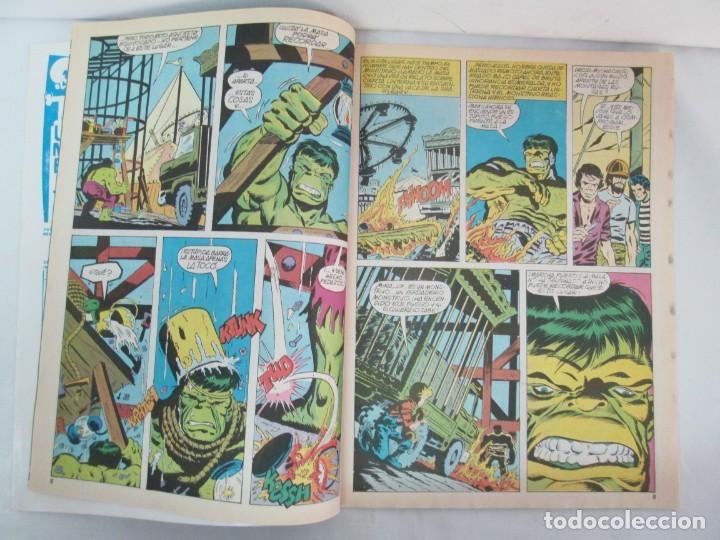 Cómics: THE RAMPAGING HULK. MUNDO COMICS VOL1. Nº 11-12-13-14-15 Y ESPECIAL 2. COMICS VERTICE. VER FOTOS - Foto 15 - 131593954