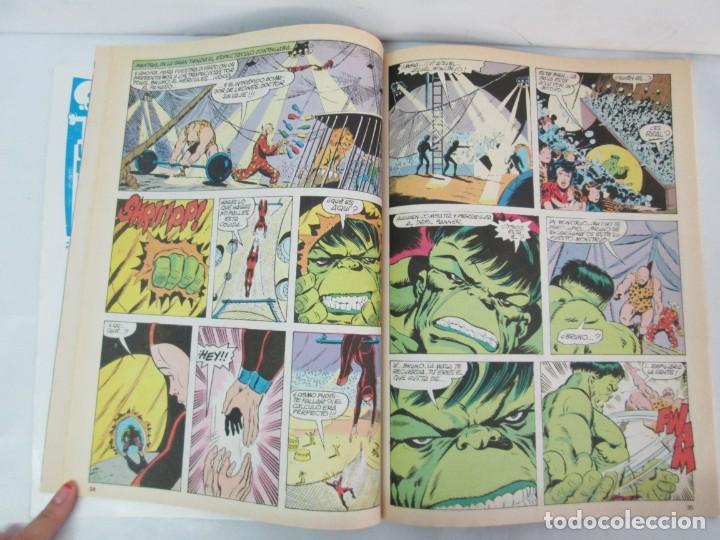Cómics: THE RAMPAGING HULK. MUNDO COMICS VOL1. Nº 11-12-13-14-15 Y ESPECIAL 2. COMICS VERTICE. VER FOTOS - Foto 18 - 131593954