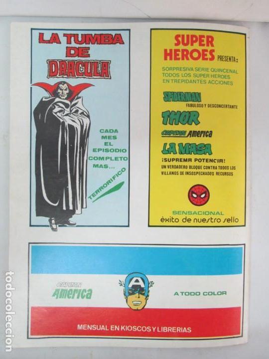Cómics: THE RAMPAGING HULK. MUNDO COMICS VOL1. Nº 11-12-13-14-15 Y ESPECIAL 2. COMICS VERTICE. VER FOTOS - Foto 21 - 131593954
