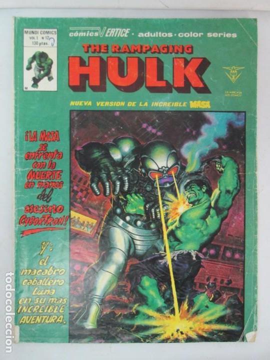Cómics: THE RAMPAGING HULK. MUNDO COMICS VOL1. Nº 11-12-13-14-15 Y ESPECIAL 2. COMICS VERTICE. VER FOTOS - Foto 22 - 131593954