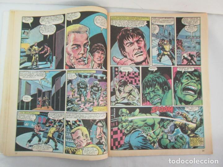 Cómics: THE RAMPAGING HULK. MUNDO COMICS VOL1. Nº 11-12-13-14-15 Y ESPECIAL 2. COMICS VERTICE. VER FOTOS - Foto 27 - 131593954