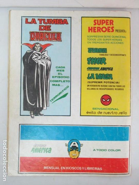 Cómics: THE RAMPAGING HULK. MUNDO COMICS VOL1. Nº 11-12-13-14-15 Y ESPECIAL 2. COMICS VERTICE. VER FOTOS - Foto 30 - 131593954