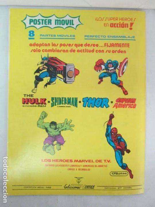 Cómics: THE RAMPAGING HULK. MUNDO COMICS VOL1. Nº 11-12-13-14-15 Y ESPECIAL 2. COMICS VERTICE. VER FOTOS - Foto 38 - 131593954