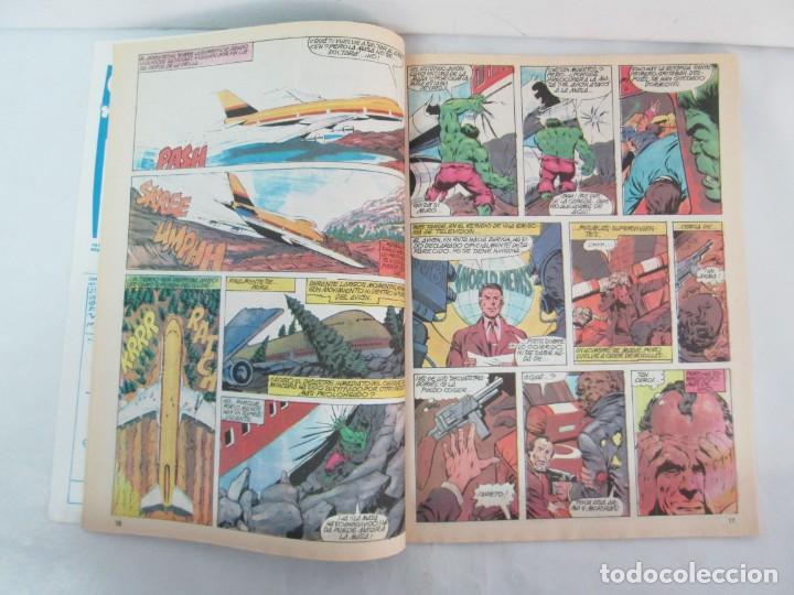 Cómics: THE RAMPAGING HULK. MUNDO COMICS VOL1. Nº 11-12-13-14-15 Y ESPECIAL 2. COMICS VERTICE. VER FOTOS - Foto 42 - 131593954
