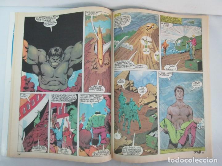 Cómics: THE RAMPAGING HULK. MUNDO COMICS VOL1. Nº 11-12-13-14-15 Y ESPECIAL 2. COMICS VERTICE. VER FOTOS - Foto 44 - 131593954