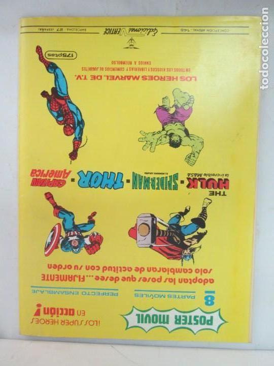 Cómics: THE RAMPAGING HULK. MUNDO COMICS VOL1. Nº 11-12-13-14-15 Y ESPECIAL 2. COMICS VERTICE. VER FOTOS - Foto 46 - 131593954