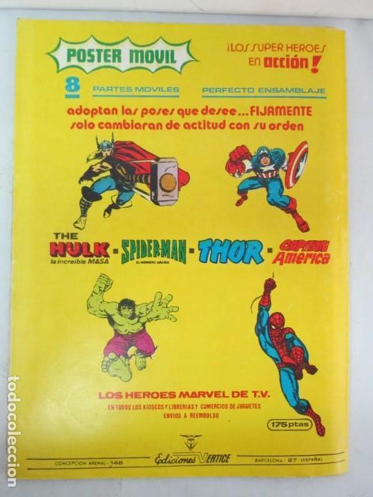 Cómics: THE RAMPAGING HULK. MUNDO COMICS VOL1. Nº 11-12-13-14-15 Y ESPECIAL 2. COMICS VERTICE. VER FOTOS - Foto 56 - 131593954