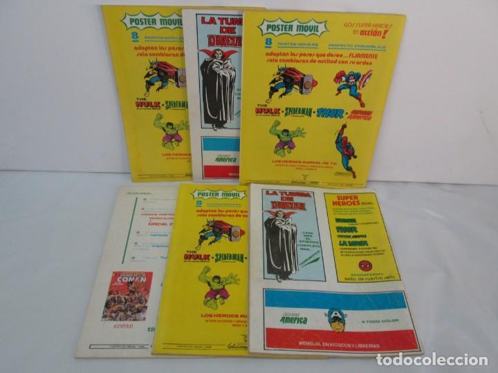 Cómics: THE RAMPAGING HULK. MUNDO COMICS VOL1. Nº 11-12-13-14-15 Y ESPECIAL 2. COMICS VERTICE. VER FOTOS - Foto 57 - 131593954