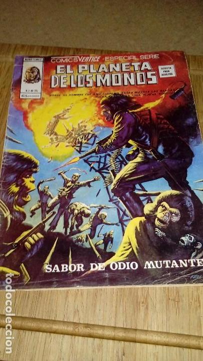EL PLANETA DE LOS MONOS VOL 2 Nº 25 RELATOS SALVAJES (Tebeos y Comics - Vértice - Relatos Salvajes)