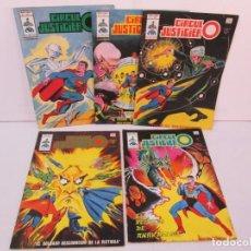 Cómics: CIRCULO JUSTICIERO. VOL I: Nº 1-2-3-4-11. 1977/1978. MUNDI COMICS. EDICIONES VERTICE. VER FOTOS. Lote 131761134