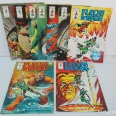 Cómics: FLECHA VERDE. LINTERNA VERDE. VOL 1: Nº DEL 1AL 9. 1978. MUNDI COMICS. EDITORIAL VERTICE. VER FOTOS. Lote 131761254