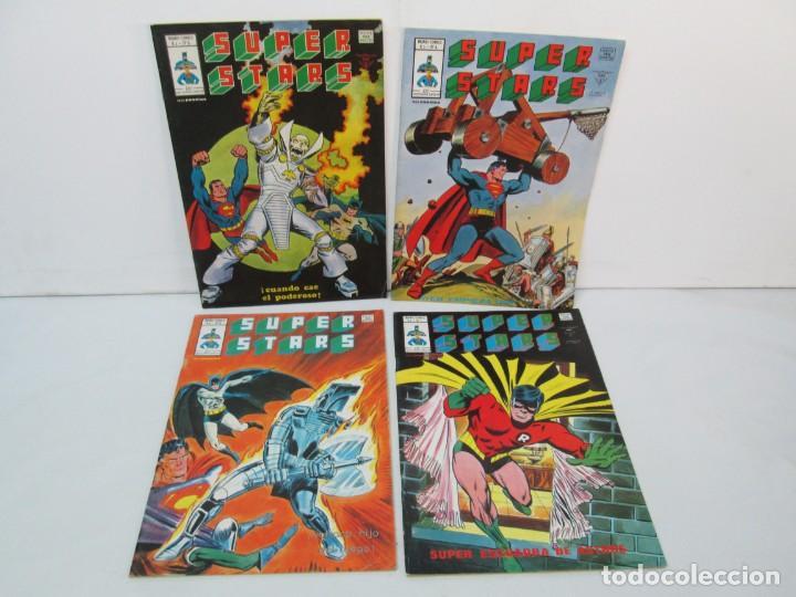 SUPER STARS. VOL 1 Nº 1 AL 4. 1978. MUNDI COMICS. EDITORIAL VERTICE. VER FOTOGRAFIAS ADJUNTAS (Tebeos y Comics - Vértice - Otros)