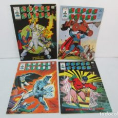 Cómics: SUPER STARS. VOL 1 Nº 1 AL 4. 1978. MUNDI COMICS. EDITORIAL VERTICE. VER FOTOGRAFIAS ADJUNTAS. Lote 131761362