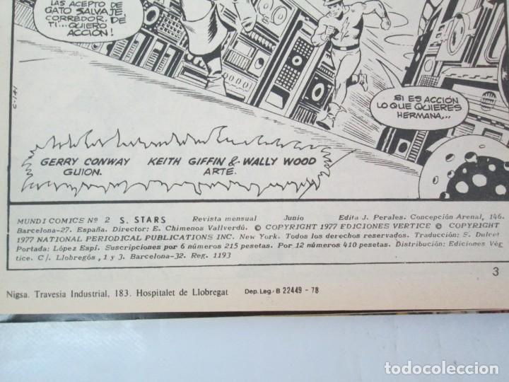 Cómics: SUPER STARS. VOL 1 Nº 1 AL 4. 1978. MUNDI COMICS. EDITORIAL VERTICE. VER FOTOGRAFIAS ADJUNTAS - Foto 12 - 131761362