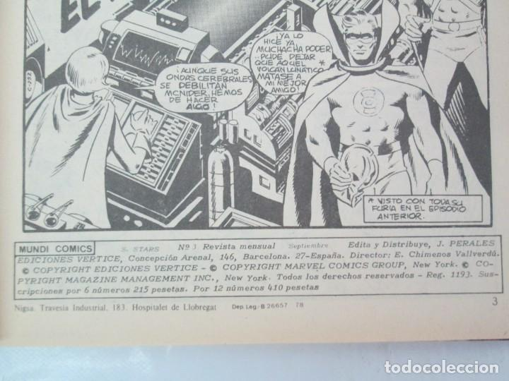 Cómics: SUPER STARS. VOL 1 Nº 1 AL 4. 1978. MUNDI COMICS. EDITORIAL VERTICE. VER FOTOGRAFIAS ADJUNTAS - Foto 18 - 131761362