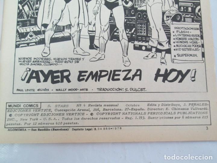 Cómics: SUPER STARS. VOL 1 Nº 1 AL 4. 1978. MUNDI COMICS. EDITORIAL VERTICE. VER FOTOGRAFIAS ADJUNTAS - Foto 24 - 131761362
