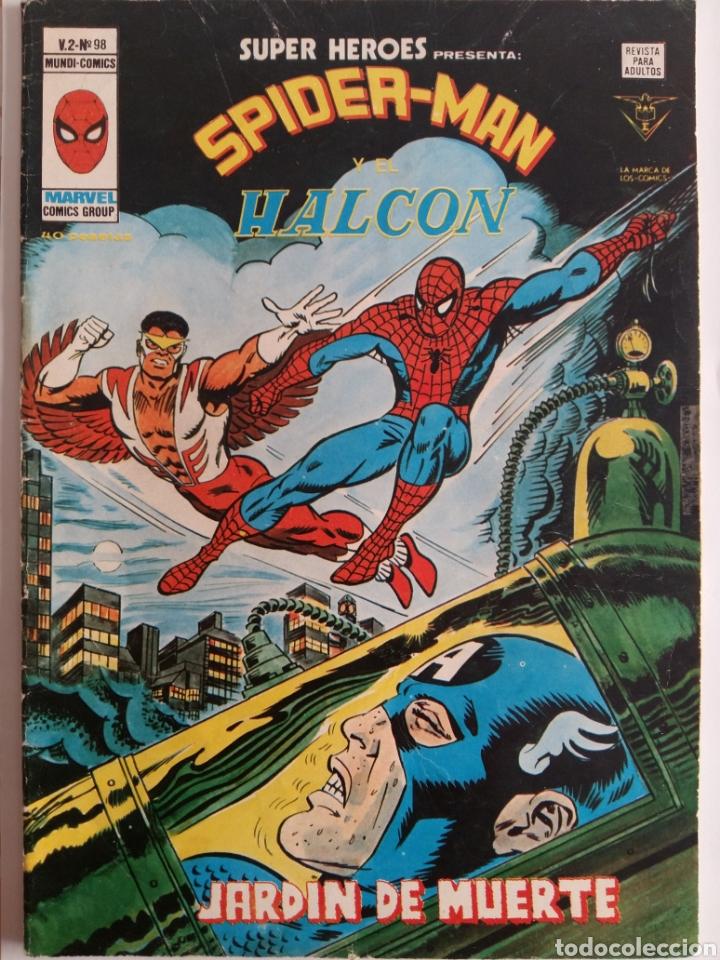 SUPER HEROES N° 98. V.2. VERTICE (Tebeos y Comics - Vértice - Super Héroes)