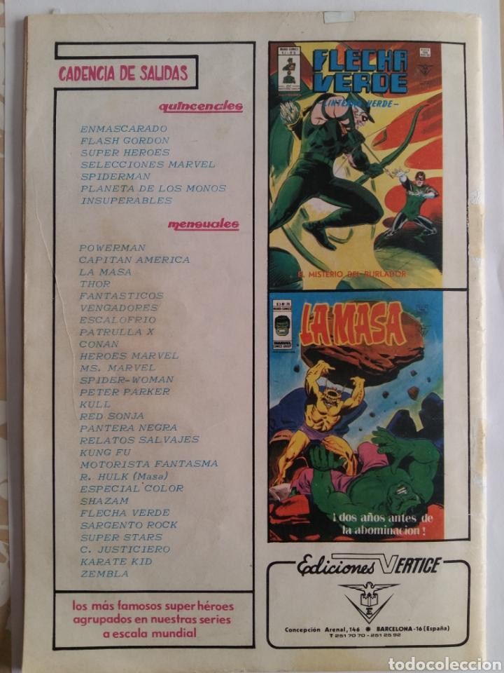 Cómics: SUPER HEROES N° 98. V.2. VERTICE - Foto 2 - 131871675