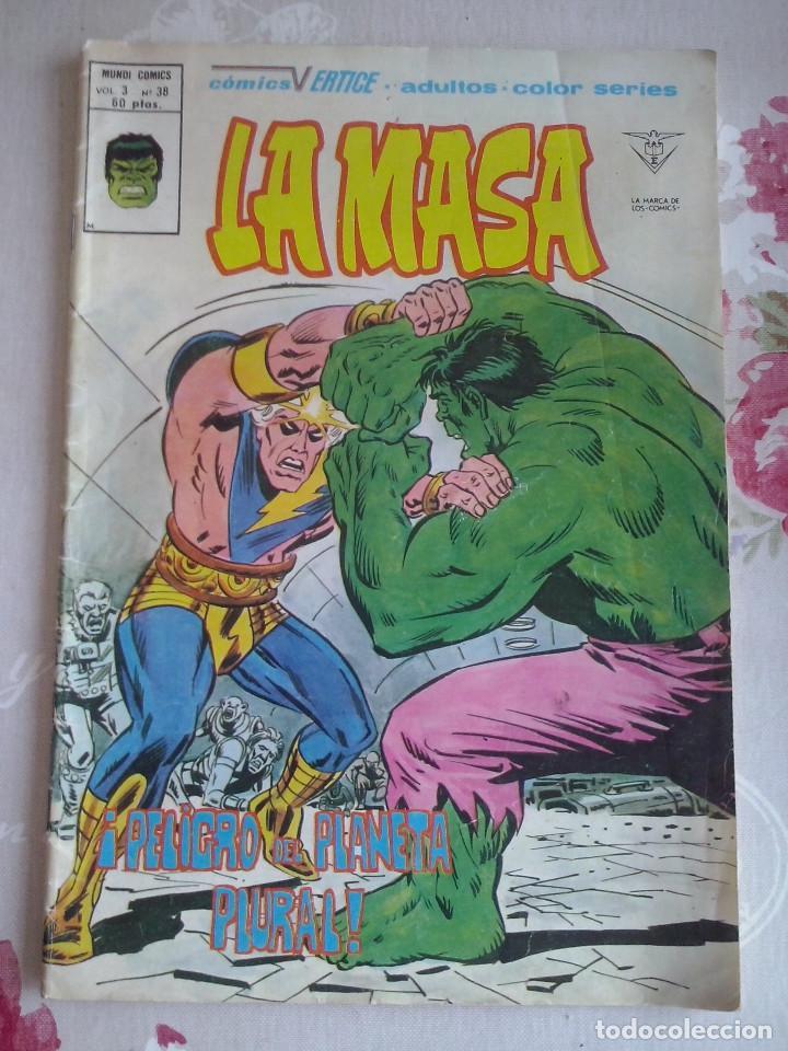 VERTICE - LA MASA VOL.3 NUM. 38 (Tebeos y Comics - Vértice - Otros)