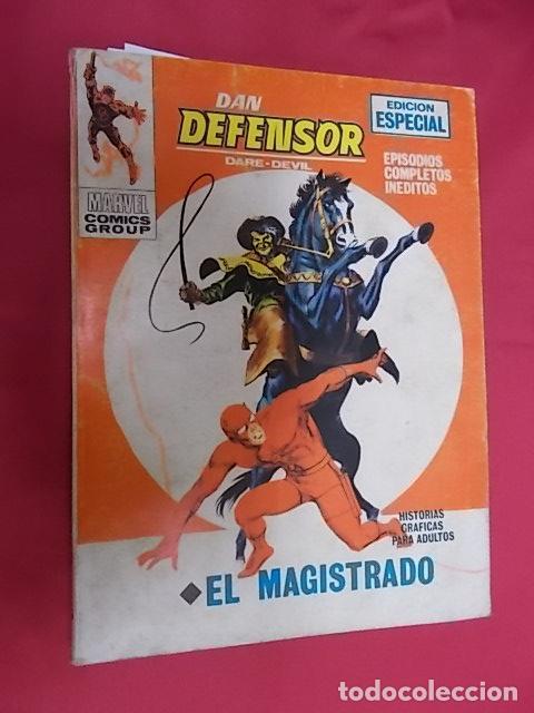DAN DEFENSOR. Nº 29. EL MAGISTRADO . VERTICE. TACO (Tebeos y Comics - Vértice - Dan Defensor)