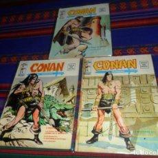 Cómics: VÉRTICE VOL. 2 CONAN, EL BÁRBARO NºS 1, 2, 3 Y 4. 1974. 30 PTS. DIFÍCILES.. Lote 128259663