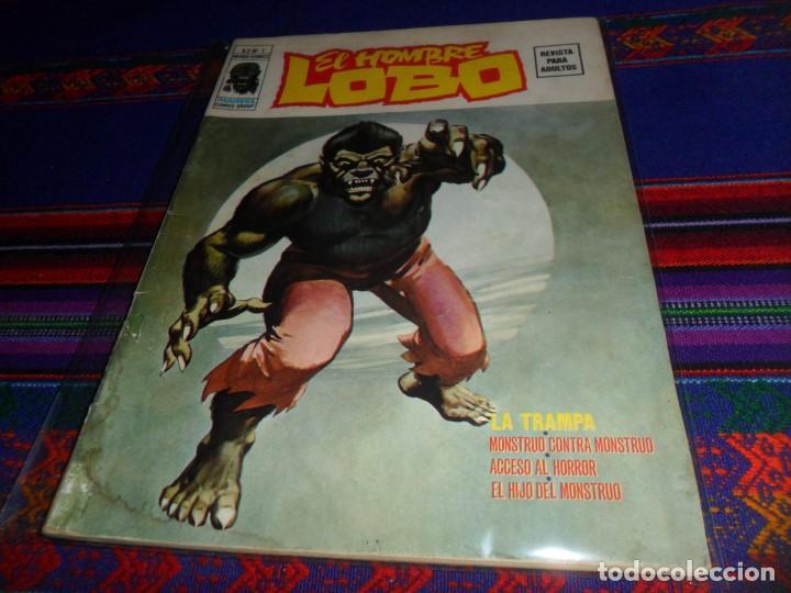 VÉRTICE VOL. 2 EL HOMBRE LOBO Nº 1. 1974. 30 PTS. LA TRAMPA. MUY DIFÍCIL. (Tebeos y Comics - Vértice - V.2)