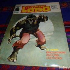 Cómics: VÉRTICE VOL. 2 EL HOMBRE LOBO Nº 1. 1974. 30 PTS. LA TRAMPA. MUY DIFÍCIL.. Lote 132308926