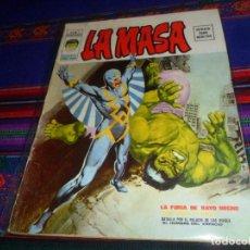 Cómics: VÉRTICE VOL. 2 LA MASA Nº 1. 1974. 30 PTS. LA FURIA DE RAYO NEGRO. RARO. . Lote 132309546