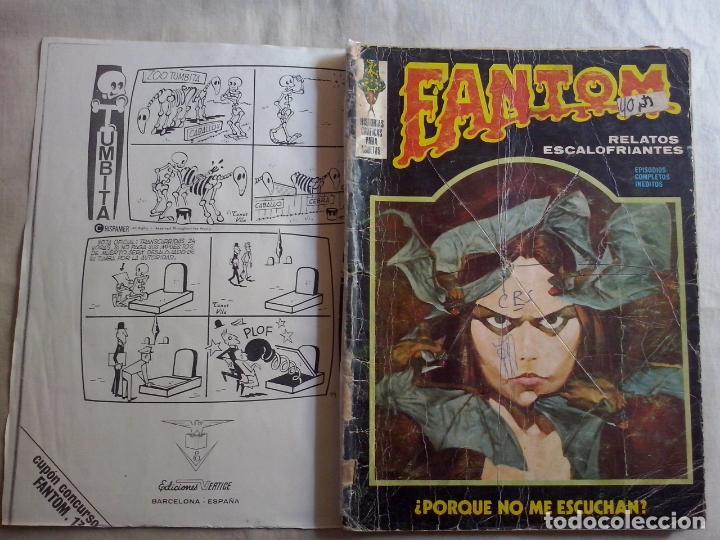 TEBEOS Y COMICS: FANTOM Nº 13 (ABLN) (Tebeos y Comics - Vértice - Terror)