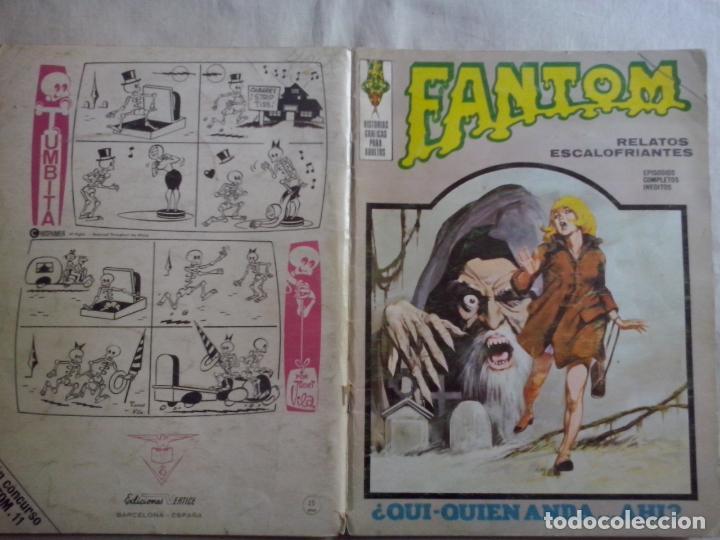 TEBEOS Y COMICS: FANTOM Nº 11 (ABLN) (Tebeos y Comics - Vértice - Terror)