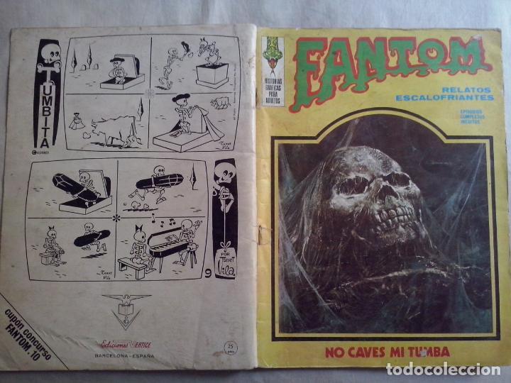 TEBEOS Y COMICS: FANTOM Nº 10 (ABLN) (Tebeos y Comics - Vértice - Terror)