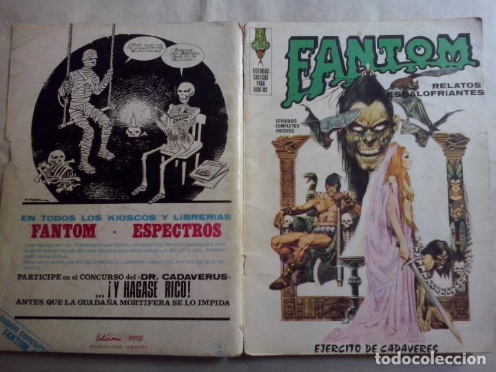 TEBEOS Y COMICS: FANTOM Nº 8 (ABLN) (Tebeos y Comics - Vértice - Terror)