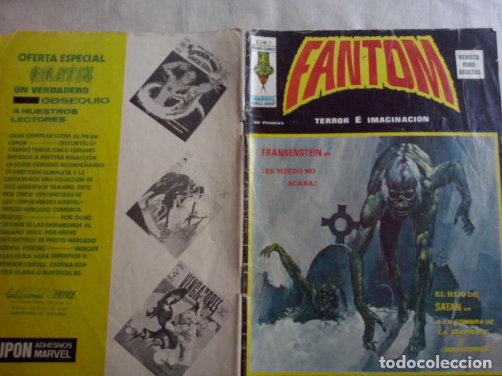 TEBEOS Y COMICS: FANTOM Nº 3- VOL 2 (ABLN) (Tebeos y Comics - Vértice - Terror)