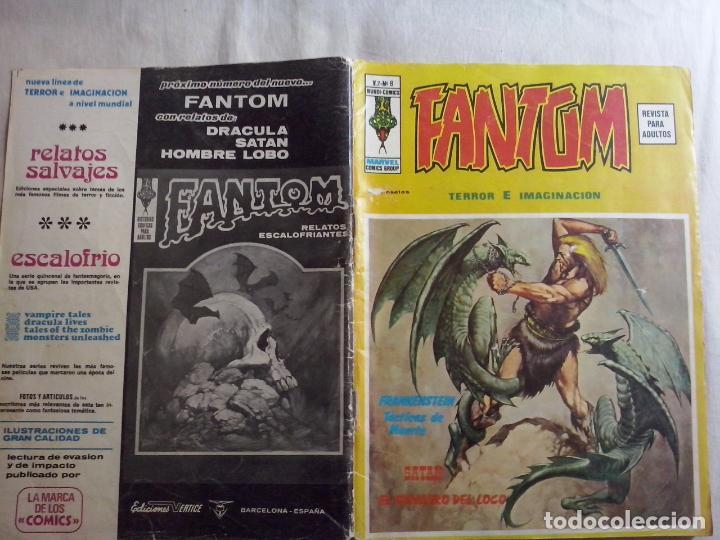 TEBEOS Y COMICS: FANTOM Nº 8- VOL 2 (ABLN) (Tebeos y Comics - Vértice - Terror)