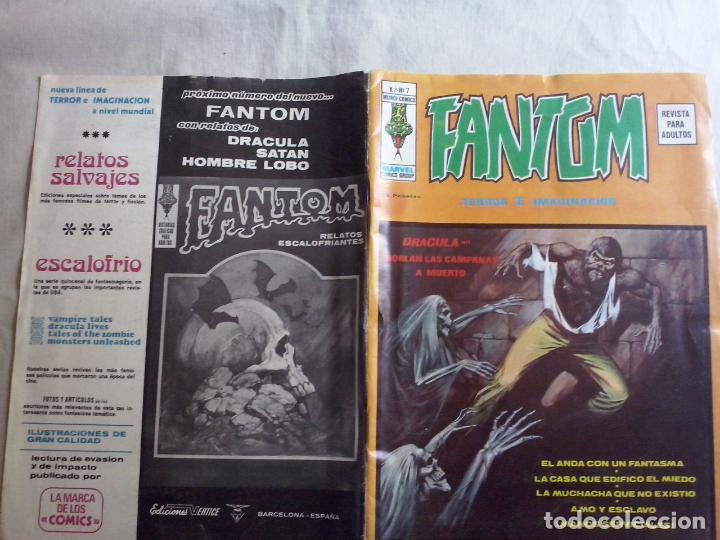 TEBEOS Y COMICS: FANTOM Nº 7- VOL 2 (ABLN) (Tebeos y Comics - Vértice - Terror)