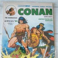 Cómics: ESPECIAL ANUAL 1980, CONAN, VERTICE ,MBE. Lote 132402810