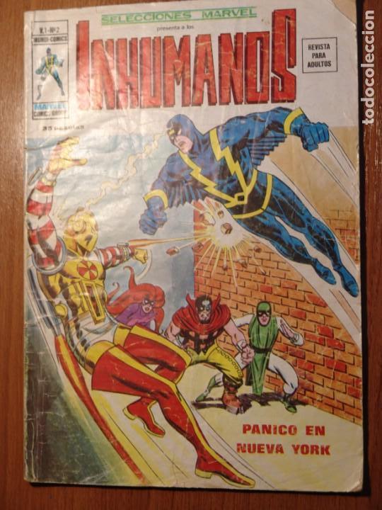 INHUMANOS SELECCIONES MARVEL VOL1 MARVEL VERTICE Nº2 GRAPA (Tebeos y Comics - Vértice - Super Héroes)