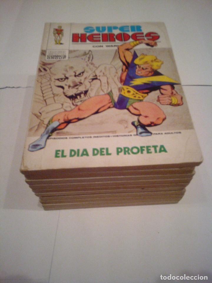 SUPER HEROES - VERTICE - VOLUMEN 1 - COLECCION COMPLETA - MUY BUEN ESTADO - CJ 37 - GORBAUD (Tebeos y Comics - Vértice - Super Héroes)