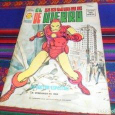Cómics: VÉRTICE VOL. 2 EL HOMBRE DE HIERRO Nº 1. 30 PTS. 1974. EL DOCTOR ESPECTRO. DIFÍCIL.. Lote 133001474