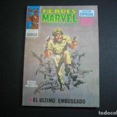 Cómics: HEROES MARVEL (1972, VERTICE) 3 · 1972 . ESTADO : *** EXCELENTE ***. Lote 133054386