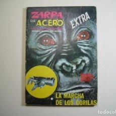 Cómics: ZARPA DE ACERO (1966, VERTICE) -EXTRA- 15 · 1966 · LA MARCHA DE LOS GORILAS. Lote 133149570
