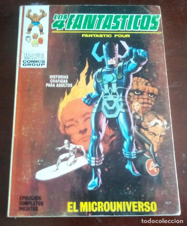 LOS 4 FANTASTICOS - VOL.1 - Nº.37 - VERTICE - EL MICROUNIVERSO - MBE (Tebeos y Comics - Vértice - 4 Fantásticos)
