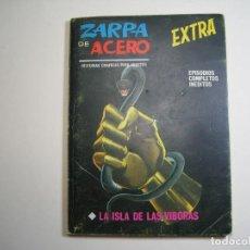 Cómics: ZARPA DE ACERO (1966, VERTICE) -EXTRA- 19 · 1968 · LA ISLA DE LAS VIBORAS. Lote 133152654