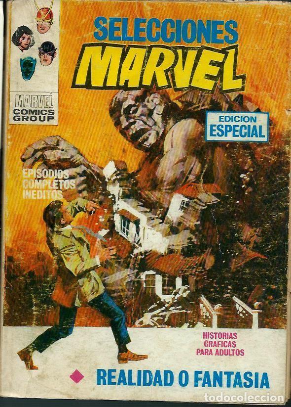 SELECCIONES MARVEL Nº 7 - REALIDAD O FANTASIA - HE CREADO A COLOSO - VERTICE 1971 - VER DESCRIPCION (Tebeos y Comics - Vértice - V.1)