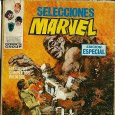 Cómics: SELECCIONES MARVEL Nº 7 - REALIDAD O FANTASIA - HE CREADO A COLOSO - VERTICE 1971 - VER DESCRIPCION. Lote 133158890