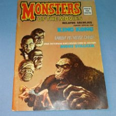 Cómics: RELATOS SALVAJES MONSTERS OF THE MOVIES KING KONG EDICIONES VERTICE AÑO 1974 EN MUY BUEN ESTADO. Lote 133209894